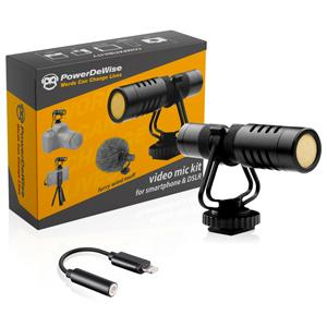 Video Microphone Kit with Lightning Adapter