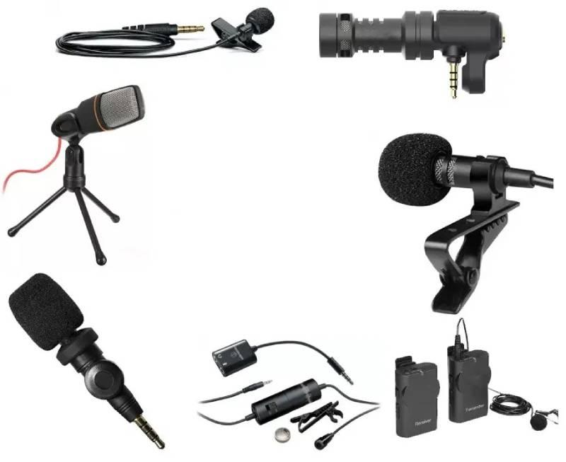 External microphone for camera Microphones and audio recordings