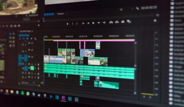 editing timeline for yourube video