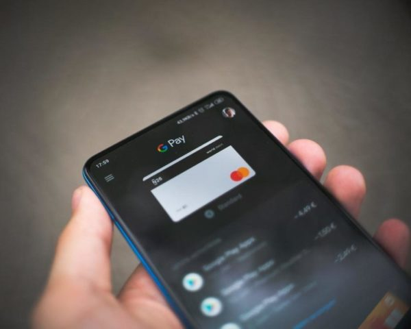 Paying using google pay